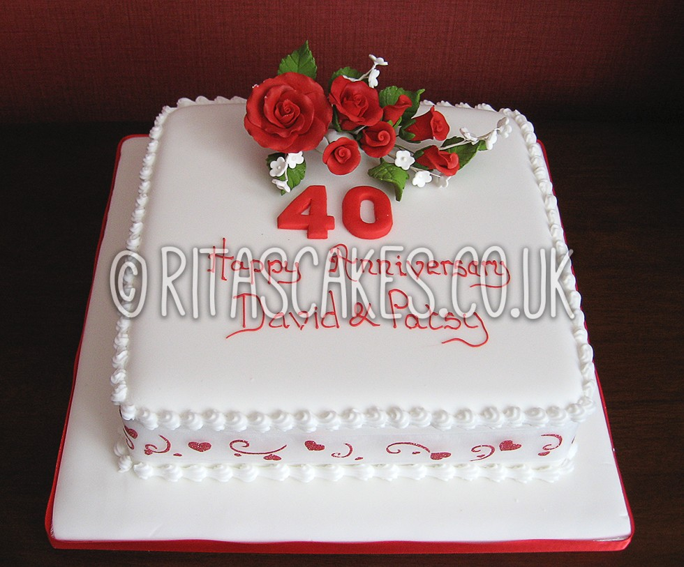 Beautiful Wedding Anniversary Cake Quotes Images - The Wedding Ideas ...